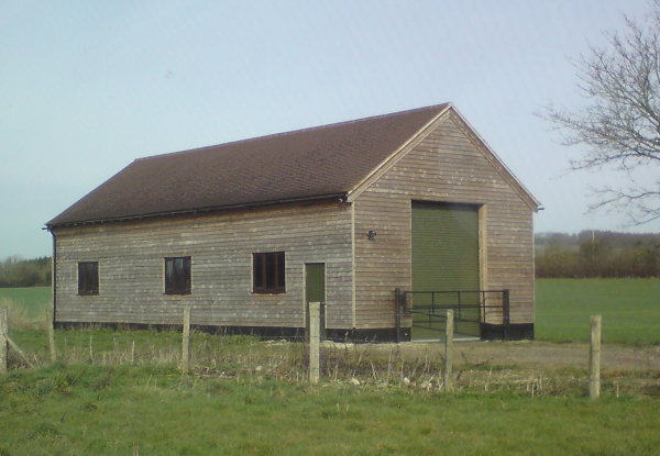 Agricultural barn built by Greenham Construction - Agricultural/Industrial Construction in Berkshire
