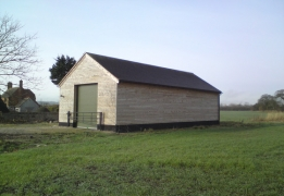 Agricultural barn built by Greenham Construction, Agricultural/Industrial construction in Berskhire