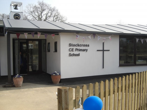 A commercial construction in Berkshire - Stockcross School after completed construction works by Greenham Construction