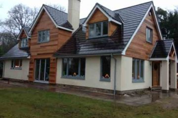 Glade cottage after completion - Construction by Greenham Construction - House building in Berkshire and surrounding areas by Greenham Construction