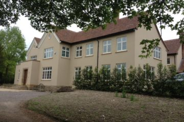 Blewburton Hall after construction by Greenham Construction - House building in Berkshire and surrounding areas by Greenham Construction