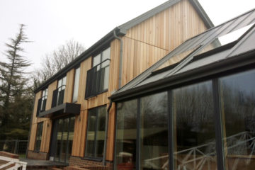 Greenham Lock Cottage after construction by Greenham Construction - House building in Berkshire and surrounding areas by Greenham Construction